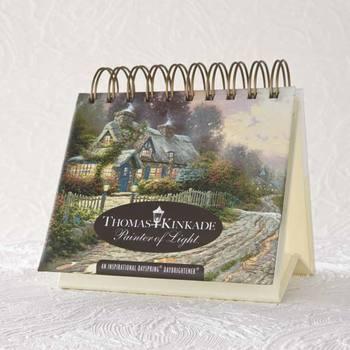 DaySpring, Thomas Kinkade Perpetual Calendar, Paper, 5-1/2 x 5-1/4 x 1-1/4 inches