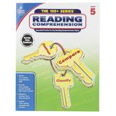 Carson-Dellosa, The 100 plus Series Reading Comprehension Workbook, Reproducible, Grade 5
