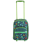Stephen Joseph, Dinosaur Pattern Rolling Luggage, 18 x 12 1/2 x 6 1/2 inches