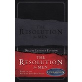 The Resolution for Men, by Randy Alcorn, Alex & Stephen Kendrick, Leather, Black