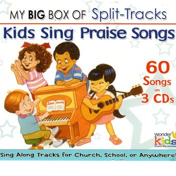 Wonder Kids Soundtracks, Big Box of Split-Track Kids Praise Songs: 3 CD set, by Wonder Kids Choir