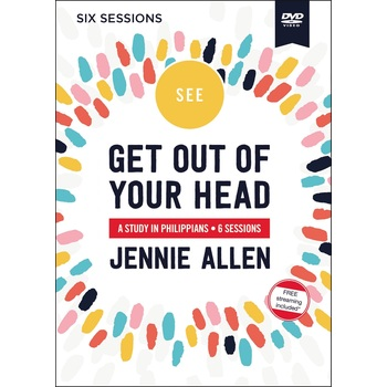 Get Out Of Your Head Video Study, by Jennie Allen, DVD