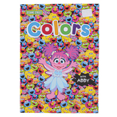 Sesame Street, Colors with Abby Preschool Workbook, Paperback, 32 Pages, Ages 3-5