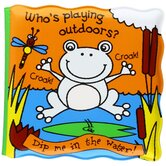 Whos Playing Outdoors, Magic Bath Books, by Kate Smith Designs, Bath Book