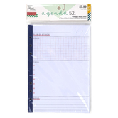 the Paper Studio, agenda 52 Plan of Attack Planner Inserts, 36 Double-Sided Sheets