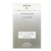 D&D, Italian Linen Luxury Aromatic Sachets,  3/4 ounce Each, Set of 3
