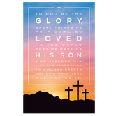 Salt & Light, To God Be The Glory Church Bulletins, 8 1/2 x 11 inches Flat, 100 Count