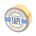 Gold Metallic Art Project Mini Washi Tape, 3/4 inches x 5 yards, 1 Roll