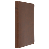 NLT Filament Thinline Reference Bible, Imitation Leather, Antique Brown, Thumb Indexed