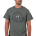 Red Letter 9, Praise Him From the Mountaintops, Men's Short Sleeve T-Shirt, Military Green Heather, 2X-Large