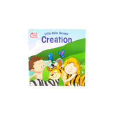 Little Bible Heroes, Creation and Noah, Flip-Over Book, by Mike Krome, Paperback