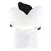 The Angel Gift Company, Dark Girl with Black Hair Plush Angel Doll, 6 1/2 x 4 1/2 inches
