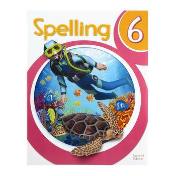 BJU Press, Spelling 6 Student Worktext, 2nd Edition, Grade 6