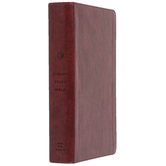 ESV Student Study Bible, Duo-Tone, Chestnut