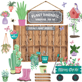 Renewing Minds, Plant Kindness Bulletin Board Set, Multi-Colored,
