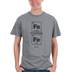 Kerusso, Proverbs 27:17 Iron Sharpens Iron, Men's Short Sleeve T-shirt, Sport Gray, Medium