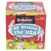 Mindware, BrainBox All Around the USA, Ages 8 and up, 1 or more Players