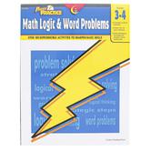 Creative Teaching Press, Power Practice Math Logic and Word Problems Workbook, Reproducible, Grades 3-4