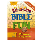 All-in-One Bible Fun for Preschool Children: Favorite Bible Stories Activity Book, Ages 3-5