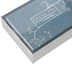 Peter Pauper Press, Inc., Condolence Thank You Notes, Slate Blue, 14 Cards with Envelopes