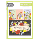 ThreeRoses, Wildflower Praying For You Cards, 12 Count