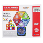 Magformers, Basic Plus 3D Building Set, 30 Pieces, Ages 3 and Older