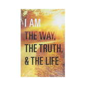Good News Tracts, I Am the Way the Truth and the Life, by Billy Graham, Set of 25 Tracts