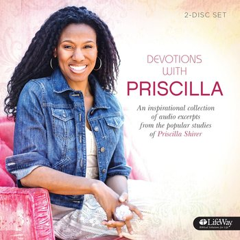 Devotions with Priscilla: Volume 1, by Priscilla Shirer, Audiobook