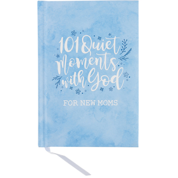 Brownlow Gifts, 101 Quiet Moments with God Gift Book for New Moms of Boys, Hardcover, 112 Pages