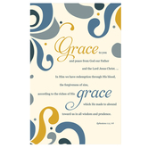 Salt & Light, Grace to You and Peace from God Church Bulletins, 8 1/2 x 11 inches Flat, 100 Count