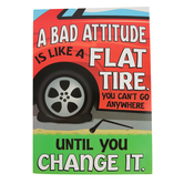 Renewing Minds, A Bad Attitude Is Like Motivational Poster, 13.25 x 19 Inches, 1 Piece