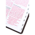 NLT Holy Bible, Giant Print, Imitation Leather, Pink and Brown, Thumb Indexed