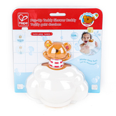 Hape, Pop-Up Teddy Shower Buddy Bath Toy, 8 x 4 1/2 x 9 1/2 inches, Ages 12 Months and Older