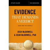 Evidence That Demands A Verdict Study Guide, by Josh McDowell and Sean McDowell, Paperback