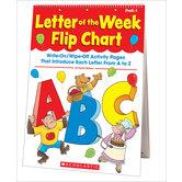 Letter of the Week Flip Chart, by Kama Einhorn