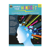 Teacher Created Resources, Change Your Mindset Growth Mindset Activities, 80 Pages, Grades 3-4