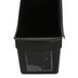 Storex, Large Book Bin with Label Pocket, Black, 14.30 x 5.30 x 7 Inches, 1 Piece