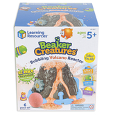 Learning Resources, Beaker Creatures® Bubbling Volcano Reactor, Multi-Colored, Ages 5-10 Years, 6 Pieces