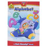 School Zone, Alphabet Super Deluxe Preschool Workbook, Paperback, 96 Pages, Grades PreK-K