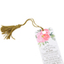 Christian Art Gifts, Jeremiah 29:11 For I Know the Plans Tassel Bookmark, 1 3/4 x 6 inches