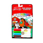 Melissa & Doug, On the Go Magicolor Farm Animals Coloring Pad, Ages 3 to 7 Years Old, 18 Pages