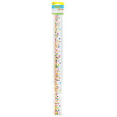 Teacher Created Resources, Confetti Magnetic Border, 1.50 x 24-Inches, 24 Feet, 12 Pieces