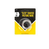 Elite Coated Picture Hanging Wire, 30 lbs., 9 feet