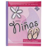 Christian Art Gifts, Devocionales de un Minuto para Ninas, by Carolyn Larsen, Hardcover