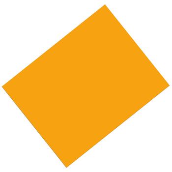 Pacon, Heavy Poster Board, 22 x 28 Inches, Orange, 1 Piece