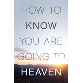 American Tract Society, How To Know For Sure You Are Going to Heaven, Set of 25 Tracts