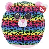 Ty, Squish A Boos, Dotty Leopard Medium Plush, 10 inches