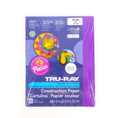Tru-Ray, Sulphite Construction Paper, 9 x 12 inches, Purple, 50 Sheets