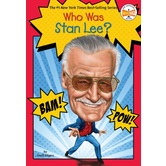 Who Was Stan Lee, by Geoff Edgers, John HInderliter, and Who HQ, Paperback