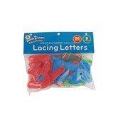 Center Enterprises, Lowercase Lacing Letters, Ages 3 Years and Older, 34 Pieces